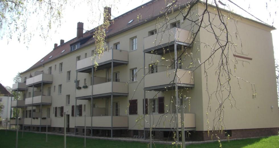 kleine, effizient geschnittene 2-R- Wohnungen, ruhig und dennoch zentral
